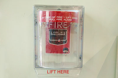 fire-alarm-for-alerting-of-a-fire