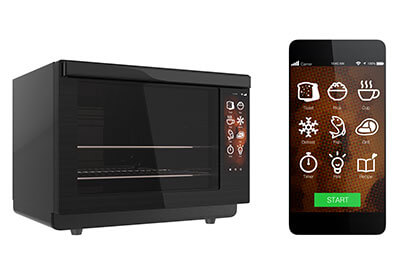 Smart home electric oven