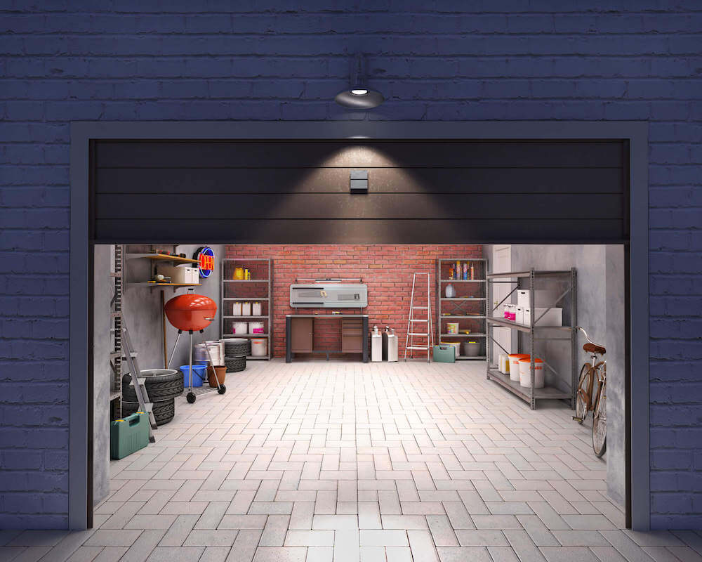 motion activated garage light installation